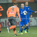 25-10-2016: Voetbal: FC Volendam v Almere City FC: Volendam (L-R) Jack Tuijp (FC Volendam), Kees van Buuren (Almere City FC) KNVB Beker 2e ronde 2016 / 2017