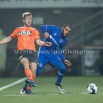25-10-2016: Voetbal: FC Volendam v Almere City FC: Volendam (L-R) Paul Kok (FC Volendam), lam11 KNVB Beker 2e ronde 2016 / 2017