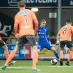 25-10-2016: Voetbal: FC Volendam v Almere City FC: Volendam (L-R) Silvester van de Water (Almere City FC), Ties Evers (FC Volendam) KNVB Beker 2e ronde 2016 / 2017
