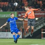 25-10-2016: Voetbal: FC Volendam v Almere City FC: Volendam (L-R) Rick ten Voorde (Almere City FC), Henny Schilder (FC Volendam) KNVB Beker 2e ronde 2016 / 2017