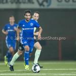 25-10-2016: Voetbal: FC Volendam v Almere City FC: Volendam Yener Arica (Almere City FC) KNVB Beker 2e ronde 2016 / 2017