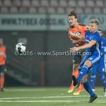 25-10-2016: Voetbal: FC Volendam v Almere City FC: Volendam (L-R) Erik Schouten (FC Volendam), Rick ten Voorde (Almere City FC) KNVB Beker 2e ronde 2016 / 2017