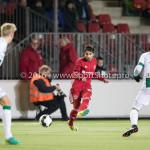 05-01-2017: Voetbal:Almere City FC v FC Groningen: Almere Yener Arica (Almere City FC) Oefenwedstrijd 2016 /2017