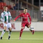 05-01-2017: Voetbal:Almere City FC v FC Groningen: Almere Gaston Salasiwa (Almere City FC) Oefenwedstrijd 2016 /2017