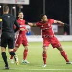 05-01-2017: Voetbal:Almere City FC v FC Groningen: Almere Sherjill MacDonald (Almere City FC) Oefenwedstrijd 2016 /2017