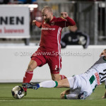 05-01-2017: Voetbal:Almere City FC v FC Groningen: Almere (L-R) Kees van Buuren (Almere City FC), Yoell van Nieff (FC Groningen) Oefenwedstrijd 2016 /2017