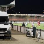05-01-2017: Voetbal:Almere City FC v FC Groningen: Almere Videowagen Oefenwedstrijd 2016 /2017