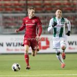 05-01-2017: Voetbal:Almere City FC v FC Groningen: Almere Jasper Waalkens (Almere City FC) Oefenwedstrijd 2016 /2017