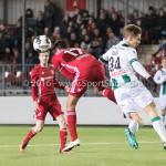 05-01-2017: Voetbal:Almere City FC v FC Groningen: Almere (L-R) Khalid Tadmine (Almere City FC), Hans Hateboer (FC Groningen) Oefenwedstrijd 2016 /2017