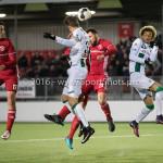 05-01-2017: Voetbal:Almere City FC v FC Groningen: Almere (L-R) Hans Hateboer (FC Groningen), Abdel Metalsi (Almere City FC) Oefenwedstrijd 2016 /2017