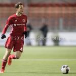 05-01-2017: Voetbal:Almere City FC v FC Groningen: Almere Nicky van Hilten (Jong Almere City FC) Oefenwedstrijd 2016 /2017