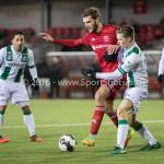 05-01-2017: Voetbal:Almere City FC v FC Groningen: Almere Javier Vet (Almere City FC) Oefenwedstrijd 2016 /2017