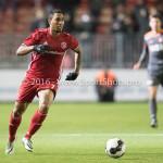 13-0 1-2017: Voetbal: Almere City FC v FC Volendam: Almere Sherjill MacDonald (Almere City FC) Jupiler League 2016 / 2017