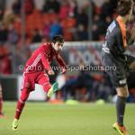 13-01-2017: Voetbal: Almere City FC v FC Volendam: Almere Yener Arica (Almere City FC) Jupiler League 2016 / 2017