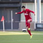 14-01-2017: Voetbal: Jong Almere City v Harkemase Boys: Almere Dyllan Lanser (Almere City FC) 3de divisie zaterdag 2016 /2017
