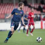 14-01-2017: Voetbal: Jong Almere City v Harkemase Boys: Almere Bart de Groot (Harkemase Boys) 3de divisie zaterdag 2016 /2017
