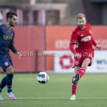 14-01-2017: Voetbal: Jong Almere City v Harkemase Boys: Almere Tom Noordhoff (Jong Almere City FC) 3de divisie zaterdag 2016 /2017