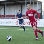 14-01-2017: Voetbal: Jong Almere City v Harkemase Boys: Almere Silvester van de Water (Almere City FC) 3de divisie zaterdag 2016 /2017