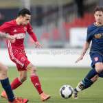 14-01-2017: Voetbal: Jong Almere City v Harkemase Boys: Almere Daan Ibrahim (Jong Almere City FC) 3de divisie zaterdag 2016 /2017