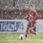 14-01-2017: Voetbal: Jong Almere City v Harkemase Boys: Almere Khalid Tadmine (Almere City FC) 3de divisie zaterdag 2016 /2017