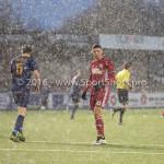14-01-2017: Voetbal: Jong Almere City v Harkemase Boys: Almere Emre Bal (Jong Almere City FC) 3de divisie zaterdag 2016 /2017