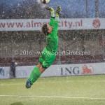 14-01-2017: Voetbal: Jong Almere City v Harkemase Boys: Almere Erick Jansema (Harkemase Boys) 3de divisie zaterdag 2016 /2017