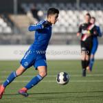 21-01-2017: Voetbal: Almere City O17 v FC Emmen O17: Almere Rida el Barjiji (Almere City FC O17) Seizoen 2016 /2017