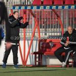 21-01-2017: Voetbal: Almere City O17 v FC Emmen O17: Almere Arturo ten Heuvel - Trainer (Almere City FC O17) Seizoen 2016 /2017