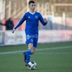 21-01-2017: Voetbal: Almere City O17 v FC Emmen O17: Almere Calvin Merks (Almere City FC O17) Seizoen 2016 /2017