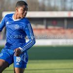 21-01-2017: Voetbal: Almere City O17 v FC Emmen O17: Almere Rivillino Neslo (Almere City FC O17) Seizoen 2016 /2017