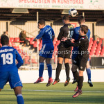21-01-2017: Voetbal: Almere City O17 v FC Emmen O17: Almere (L-R)Douglas Nacimento de Lima (Almere City FC O17),Wesley Mink (Almere City FC O17) Seizoen 2016 /2017