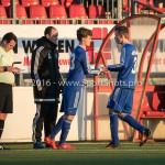 21-01-2017: Voetbal: Almere City O17 v FC Emmen O17: Almere (L-R) Arturo ten Heuvel - Trainer (Almere City FC O17), Julian van der Greft (Almere City FC O17), Tiggo Jansen (Almere City FC O17) Seizoen 2016 /2017
