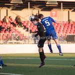 21-01-2017: Voetbal: Almere City O17 v FC Emmen O17: Almere Wesley Mink (Almere City FC O17) Seizoen 2016 /2017