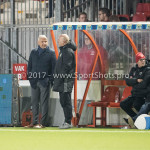 27-01-2017: Voetbal: Almere City FC v Fortuna Sittard: Almere (L-R) Jack de Gier - Technisch manager/Hoofdtrainer (Almere City FC), Marco Heering - Assistent trainer (Almere City FC) Jupiler League 2016 / 2017