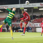 27-01-2017: Voetbal: Almere City FC v Fortuna Sittard: Almere Arsenio Valpoort (Almere City FC) Jupiler League 2016 / 2017