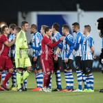 03-02-2017: Voetbal: FC Eindhoven v Almere City FC: Eindhoven (L-R) Chiel Kramer (Almere City FC), Tom Overtoom (Almere City FC)` Jupiler League 2016 / 2017