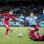 03-02-2017: Voetbal: FC Eindhoven v Almere City FC: Eindhoven Jeffrey Rijsdijk (Almere City FC) Jupiler League 2016 / 2017