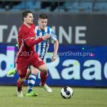 03-02-2017: Voetbal: FC Eindhoven v Almere City FC: Eindhoven Tom Overtoom (Almere City FC) Jupiler League 2016 / 2017