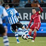 03-02-2017: Voetbal: FC Eindhoven v Almere City FC: Eindhoven (L-R) Rai Vloet (FC Eindhoven), Tom Overtoom (Almere City FC) Jupiler League 2016 / 2017
