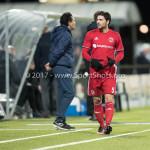 03-02-2017: Voetbal: FC Eindhoven v Almere City FC: Eindhoven Paul Quasten (Almere City FC) Jupiler League 2016 / 2017