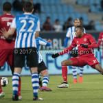 03-02-2017: Voetbal: FC Eindhoven v Almere City FC: Eindhoven Arsenio Valpoort (Almere City FC) Jupiler League 2016 / 2017