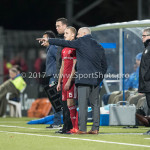 03-02-2017: Voetbal: FC Eindhoven v Almere City FC: Eindhoven (L-R) Silvester van de Water (Almere City FC), Jack de Gier - Technisch manager/Hoofdtrainer (Almere City FC) Jupiler League 2016 / 2017
