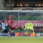 03-02-2017: Voetbal: FC Eindhoven v Almere City FC: Eindhoven (L-R) Mart Lieder (FC Eindhoven), Javier Vet (Almere City FC), Chiel Kramer (Almere City FC), Lars Nieuwpoort (Almere City FC) Jupiler League 2016 / 2017