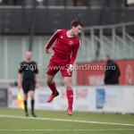 04-02-2017: Voetbal:Almere City FC O17 v PEC Zwolle O17: Almere Selcuk Koruyucu (Almere City FC O17) Seizoen 2016 / 2017
