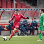 04-02-2017: Voetbal:Almere City FC O17 v PEC Zwolle O17: Almere Tarik Zaanani (Almere City FC O17) Seizoen 2016 / 2017
