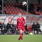 04-02-2017: Voetbal:Almere City FC O17 v PEC Zwolle O17: Almere Tiggo Jansen (Almere City FC O17) Seizoen 2016 / 2017