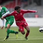 04-02-2017: Voetbal:Almere City FC O17 v PEC Zwolle O17: Almere Ryannique Inge (Almere City FC O17) Seizoen 2016 / 2017