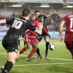 06-02-2017: Voetbal: Almere City FC v FC Emmen: Almere Calvin Mac Intosch (Almere City FC) Seizoen 2016 / 2017