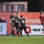 06-02-2017: Voetbal: Almere City FC v FC Emmen: Almere Henk Bos(FC Emmen) Seizoen 2016 / 2017