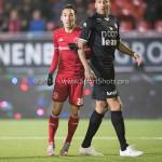 06-02-2017: Voetbal: Almere City FC v FC Emmen: Almere (L-R) Gaston Salasiwa (Almere City FC), Josimar Lima (FC Emmen) Seizoen 2016 / 2017